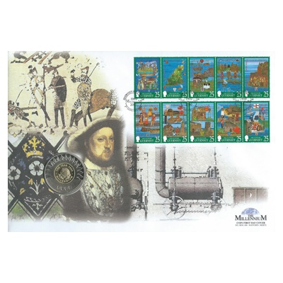 1999 BU £5 - Millennium Tapestries Commemorative